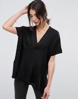 Selected Furell Kimono Deep V Blouse