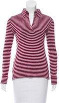 Balenciaga Striped Knit Top