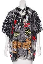 Tsumori Chisato Silk Button-Up Top