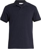 Sunspel Buttonless Cellulock-cotton polo shirt