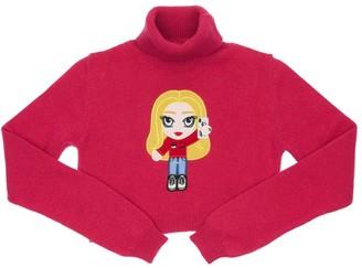 Chiara Ferragni Wool & Cashmere Extra Fine Knit Sweater