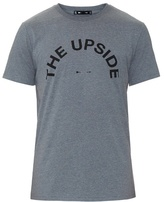The Upside Logo-printed jersey T-shirt