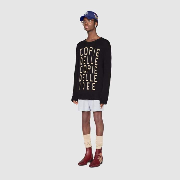 """Gucci """"Copie delle Copie delle Idee"""" sweater"""