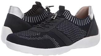 Rieker R3511-14 (Pazifik/Silver) Women's Shoes