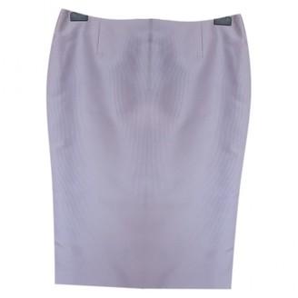 Christian Dior Purple Silk Skirts