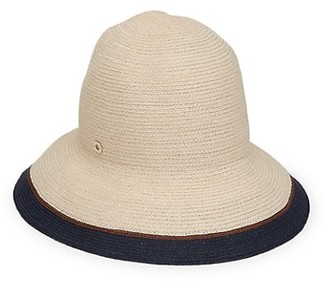Loro Piana Kate Streaks Hemp Hat