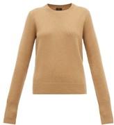 Joseph Ribbed-edge Cashmere Sweater - Womens - Camel