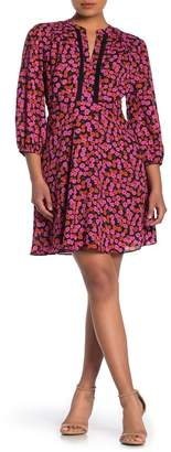 Collective Concepts Quarter Sleeve Floral Dress
