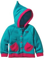 Patagonia Toddler Girl's 'Swirly Top' Hooded Fleece Jacket