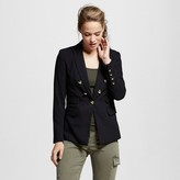 XOXO Women's V Button Pocket Blazer Juniors')