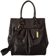 Le Sport Sac Signature Tote (Women) - Black Twill Cream