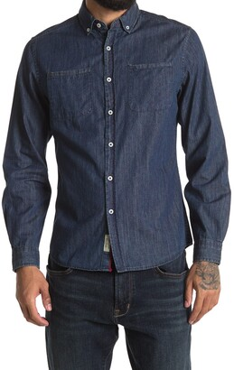 Report Collection Chambray Slim Fit Shirt