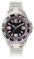Just Cavalli Women's R7253141025 Abyss Silver/Black Stainless Steel Watch