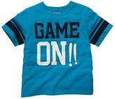 Osh Kosh game on tee - toddler