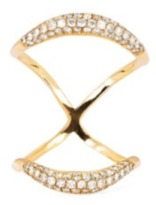 Logan Hollowell - Crescent Mirror Knuckle Ring