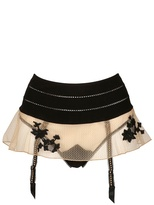 La Perla Techno Lace Skirt