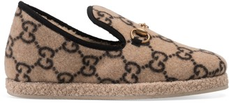 Gucci Women's GG wool loafer