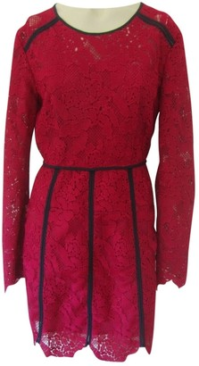 MSGM Pink Lace Dress for Women