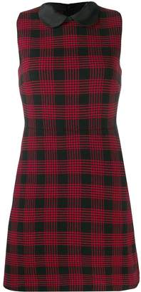 RED Valentino check sleeveless dress