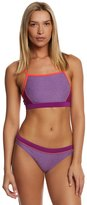 Speedo Heathered Clip Back Two Piece Swimsuit Set 7532926
