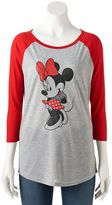 Disney Disney's Minnie Mouse Juniors' Classic Graphic Tee