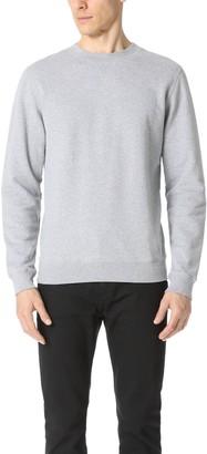 Sunspel Crew Neck Sweatshirt