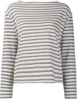 Wood Wood striped longlseeved T-shirt