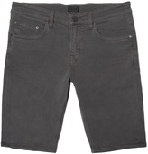 DSTLD Skinny-Slim Shorts in Charcoal
