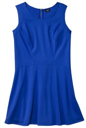 Mossimo Women's Plus-Size Sleeveless Skater Ponte Dress - Assorted Colors