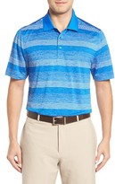 Cutter & Buck Men's Metric Stripe Polo