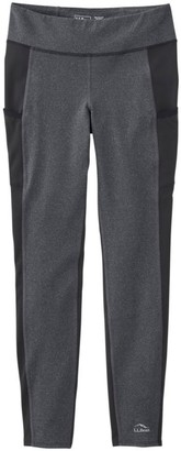L.L. Bean Women's Boundless Performance Pocket Tights, Colorblock