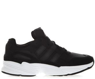 adidas Yung Black Nylon & Synthetic Suede Sneaker