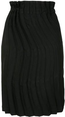 Issey Miyake Wave Pleat Skirt