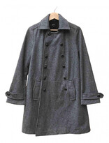 APC grey Wool Coats