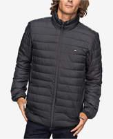 Quiksilver Men's Scaly Full-Zip Quilted Puffer Jacket