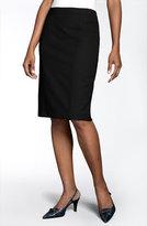 Lafayette 148 New York Stretch Wool Pencil Skirt