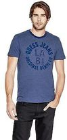 GUESS Men's Rychie Ringer Crew Tee