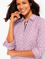 Talbots The Classic Casual Shirt - Dots & Stripes