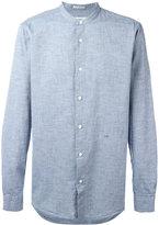 Closed plain shirt - men - Cotton - XL