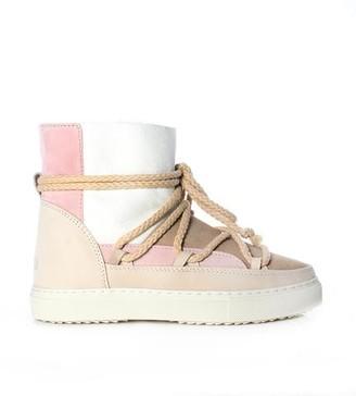 INUIKII Patchwork Sneaker Boot Rose