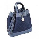Chanel Blue Denim - Jeans Backpacks