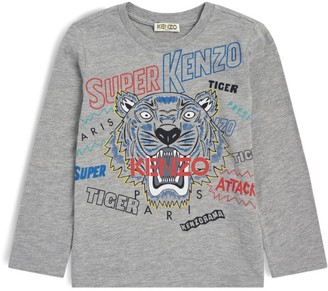 Kenzo Kids Super Icon Tiger T-Shirt