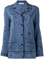 Valentino Swallow Metamorphosis pyjama top - women - Silk - S