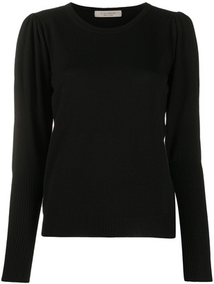 D-Exterior Crew Neck Knit Jumper