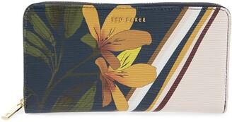 Ted Baker Lochia Savannah Leather Zip Wallet