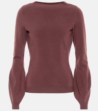 Alaia Wool-blend sweater