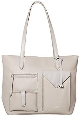 Radley London Wilton Way - Medium Zip Top Tote (Ash) Handbags