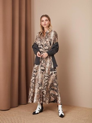 Sale - Sofie Schnoor Lula Shirt Dress Snake - XS