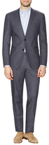 Solid Notch Lapel Suit
