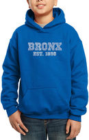 LOS ANGELES POP ART Los Angeles Pop Art Popular Bronx Ny Neighborhoods Hoodie-Big Kid Boys